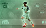 Title:Andre Gomes-UEFA Euro 2016 Player Wallpaper Views:1193