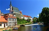 Title:Cesky Krumlov travel landscape HD Wallpaper 02 Views:1009