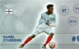 Title:Daniel Sturridge-UEFA Euro 2016 Player Wallpaper Views:1173