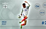 Title:Dele Alli-UEFA Euro 2016 Player Wallpaper Views:1209