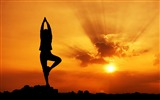 Title:Evening Yoga beauty-2016 Sport HD Wallpaper Views:1541
