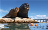 Title:Finding Dory Sea Lions 2016-Movies Posters HD Wallpaper Views:1509