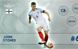 Title:John Stones-UEFA Euro 2016 Player Wallpaper Views:1041