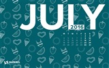 Title:July Flavour-July 2016 Calendar Wallpaper Views:1594