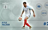 Title:Kyle Walker-UEFA Euro 2016 Player Wallpaper Views:1110