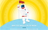 Title:Man First Walked On The Moon-July 2016 Calendar Wallpaper Views:1222
