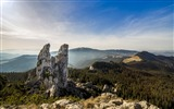 Title:Romanian mountains rocks sky-Scenery High Quality Wallpaper Views:1095