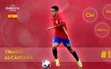 Title:Thiago alcantara-UEFA Euro 2016 Player Wallpaper Views:1038