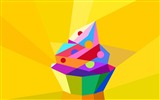 Title:Abstract colorful cute cupcake-Vector HD Wallpaper Views:772