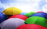 Title:Abstract colorful umbrellas-Vector HD Wallpaper Views:825