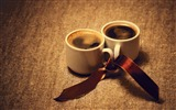 Title:Coffee cups ribbon mood romance-2016 Food HD Wallpaper Views:1126