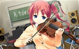 Title:Girl violin treble lesson-Anime Character HD Wallpaper Views:1217