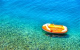 Title:Inflatable boat in croatia-2016 High Quality Wallpaper Views:1135