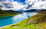 Title:Tibet YamdrokTso Paradise Lake Photo Wallpaper Views:1379