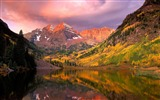 Title:Autumn mountains lakes sunset-2016 Scenery HD Wallpaper Views:961