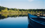 Title:Boat canoe lake forest-2016 Nature Photo HD Wallpaper Views:976