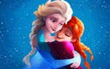 Title:Frozen sisters elsa anna-2016 High Quality Wallpaper Views:883