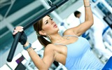 Title:Girl gym exercise-Fitness photo wallpaper Views:818