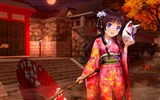 Title:Girl kimono umbrella-2016 Anime HD Wallpaper Views:1012