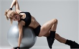 Title:Girl weight loss gym ball-Fitness photo wallpaper Views:818