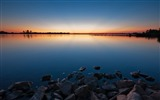 Title:Stones water decline lake evening-2016 Nature Photo HD Wallpaper Views:671