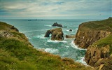 Title:Cornwall england ocean reefs-Scenery High Quality Wallpaper Views:541