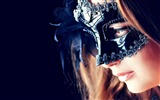 Title:Girl in the mask-Beauty Photo Wallpaper Views:1499