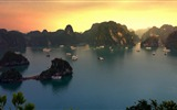 Title:Vietnam Sunset on Halong Bay-2016 Bing Desktop Wallpaper Views:469