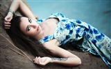Title:Blue eyed brunette in a sundress-Celebrity Poster Wallpapers Views:588