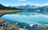 Title:Canada kluane lake mountain-Nature High Quality Wallpaper Views:708