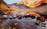 Title:Clear Convict Lake Rock-Travel HD Wallpaper Views:903