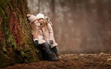 Title:Girls cute forest meeting-2016 High Quality HD Wallpaper Views:603