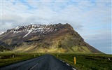Title:Highway road mountain asphalt-Nature High Quality Wallpaper Views:606