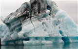Title:Iceland glacier icebergs lagoon-Nature High Quality Wallpaper Views:683