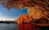 Title:New zealand autumn lakes-Nature Scenery Wallpaper Views:631