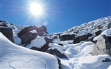 Title:New zealand mountains snow sunlight-Nature Scenery Wallpaper Views:544