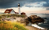 Title:Portland head light cape ocean-Nature High Quality Wallpaper Views:632