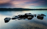 Title:Stones in the lake-Nature High Quality Wallpaper Views:606