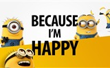 Title:Because I am happy-Text Artistic Design HD Wallpaper Views:818