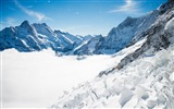 Title:Bernese alps winter mountains-Nature High Quality HD Wallpaper Views:1126
