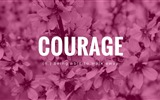 Title:Courage-Text Artistic Design HD Wallpaper Views:691