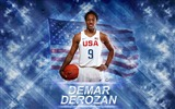 Title:DeMar DeRozan-2016 Basketball Star Poster Wallpaper Views:895