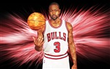 Title:Dwyane Wade Chicago Bulls-2016 Basketball Star Poster Wallpaper Views:790