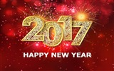 Title:Happy New Year 2017 HD Holiday Desktop Wallpaper Views:764