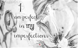 Title:I am perfect in my imperfections-Text Artistic Design HD Wallpaper Views:1080