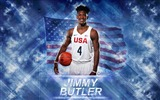 Title:Jimmy Butler-2016 Basketball Star Poster Wallpaper Views:740