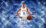 Title:Klay Thompson-2016 Basketball Star Poster Wallpaper Views:873