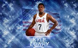 Title:Kyle Lowry-2016 Basketball Star Poster Wallpaper Views:977