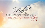 Title:Make the rest of your life-Text Artistic Design HD Wallpaper Views:712