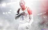 Title:Russell Westbrook-2016 Basketball Star Poster Wallpapers Views:138